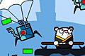 [ニンジャハムスターでボスロボットを撃破するアクションゲーム]Ninja Hamsters vs Robots