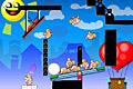 [ふとっちょキューピットを愛の気球へ乗っける物理パズルゲーム]Super Cupid Shooter