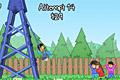 [ブランコでできるだけ遠くへ飛ぶ吹っ飛びゲーム]Pogo Swing!