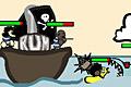 [敵の攻撃から海賊船を守り抜く防衛ゲーム]Yarrr