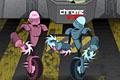 [カスタマイズしながら敵ロボットと戦うターン形式の格闘ゲーム]Chrome Wars