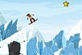 [スノボで危険な雪山を滑り進むアクションゲーム]iStunt 2