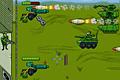 [敵戦車からの攻撃を迎え撃つ防衛シューティングゲーム]Command & Defend