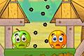 [囲いを設置してヒョウからキャラを守る物理パズルゲーム]Cover Orange 2