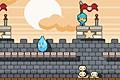 [敵やトラップをかわしながらお城の頂上までたどり着くアクションゲーム]Knight Trap