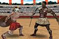 [古代ローマ剣闘士の格闘ゲーム]Gladiators