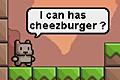 [腹ぺこのネコちゃんのレミングス風誘導パズルゲーム]Burger Cat