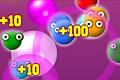 [泡を連鎖爆発させるゲーム]Flying Candy