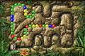 [レールに沿って流れてくるボールを消していくZOMA系パズルゲーム]IncaBall