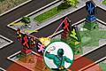 [戦隊ヒーロー的キャラの防衛ゲーム]Samurai Defense