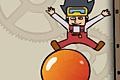 [風船を使ってキャラを上空へジャンプさせるアクションゲーム]DecaJump