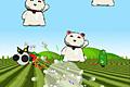 [ジェットパックを背負ったパンダのスペースハリアー風アクションゲーム]Rocket Panda