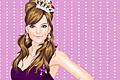[ぶどう色好きなお姫様の着せ替えゲーム]Grape Princess