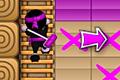 [素早い動きでペンキを塗っていくニンジャのパズルアクションゲーム]Ninja Painter