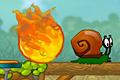 [カタツムリ君が安全に移動できるように助けてあげるパズルゲーム]Snail Bob 2