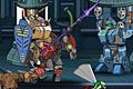 [凶悪ロボットをやっつけながら進むロボットアクションゲーム]Super Robot War