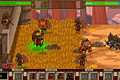 [兵士を雇い敵の城を攻め落とす攻防シミュレーションゲーム]Fierce battle