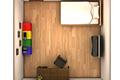 [白い壁で囲まれている小さな部屋からの脱出ゲーム]普通の部屋からの脱出