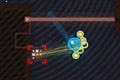 [敵を撃墜、時には逃走しながらゴールを目指すパズルアクションゲーム]Blipzkrieg