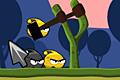 [自らを吹っ飛ばし人間たちをやっつけるAngry Birds風ゲーム]Angry Aliens