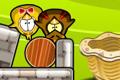 [黄色いヒヨコちゃんたちを巣に戻してあげる物理パズルゲーム]Rescue a Chicken 2