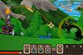 [属性を変化させながら敵や敵の城を破壊するアクションゲーム]Conjure