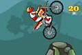 [スタントをキメながら悪路を進むバイクバランスゲーム]Miniclip Free Bike