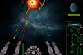 [敵宇宙船の攻撃を迎え撃つ、攻撃防衛シューティングゲーム]Matriarch