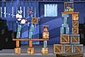 [鳥を吹っ飛ばし鳥かごの鳥を解放させるアクションパズルゲーム]Angry Birds Rio