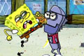 [スポンジボブのふっとばしゲーム]Sponge Bob. Anchovy Assault