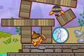 [海賊スマイリー達をやっつける物理パズルゲーム]Roly Poly Eliminator