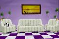 [白いソファーが置かれているアパートからの脱出ゲーム]Apartment mini-escape