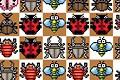 [昆虫を集めて消していくパズルゲーム]Match The Bugz