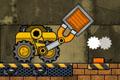 [磁石アームロボットのコンテナ積み込み物理パズルゲーム]Truck Loader 2