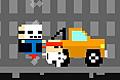 [ホッピングマシーンで人や車とかを踏みつぶすアクションゲーム]Pogo Rampage