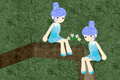 [画面のどこかに隠れている「星」を探し出すパズルゲーム]星探林檎姫