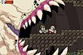 [でっかいモンスターが住む洞窟内を進むアクションゲーム]Discount Mayonnaise