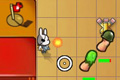 [隻眼ウサギの防衛アクションゲーム]Bunny Flags 2