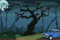 [ガス欠車を動かして帰宅する脱出ゲーム]Spooky Night Escape