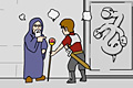 [魔法使いと戦士がなにやらモメている部屋からの脱出ゲーム]ナニクエスト~謎の扉と高すぎたテンション~