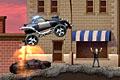 [人や車をふんづけて進むパトカーのバランスアクションゲーム]Hell Cops