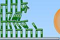 [鉄球をブロックにぶつけて落下させる物理パズルゲーム]Blosics 2