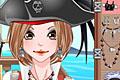 [女海賊のメイクアップ&着せ替えゲーム]Pirate Girl Make Up