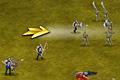 [兵隊を出動させ敵陣地に攻め込む攻防アクションゲーム]Warlords 2: Rise of Demons