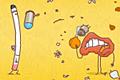 [タバコと戦うクチビルキャラのアクションゲーム]mouth