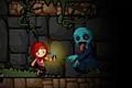 [ゾンビが住む薄暗い建物内を宝石を集めながら進むアクションゲーム]Zombies Runaway!