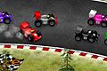 [フォーミュラーカーの上視点3D風レーシングゲーム]Grand Prix Go