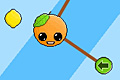 [ロープに結ばれたオレンジくんの物理パズルゲーム]Orange Gravity