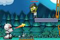 [ミサイルでゾンビたちをやっつける物理パズルゲーム]Robot vs. Zombies