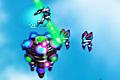 [敵施設内のロボット軍団をやっつけながら進むアクションゲーム]Xenos